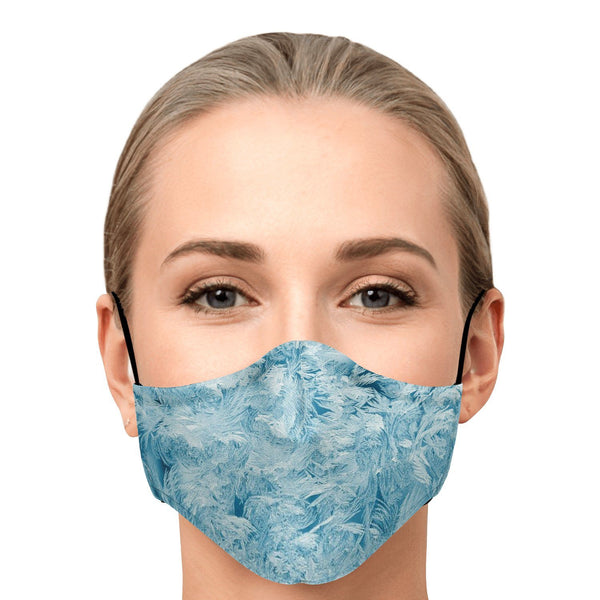 65 MCMLXV Unisex Ice Crystals Print Face Mask-Fashion Face Mask - AOP-65mcmlxv