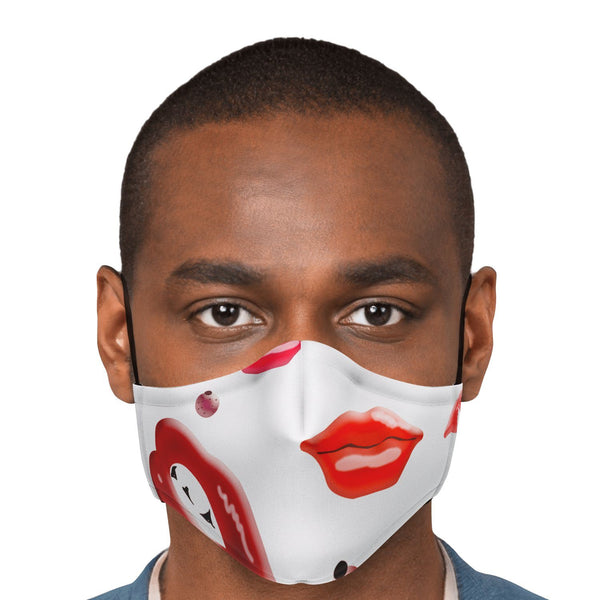 65 MCMLXV Unisex Kiss Bliss Lips Print Face Mask-Fashion Face Mask - AOP-65mcmlxv
