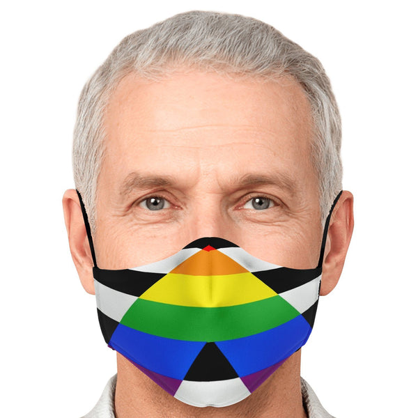65 MCMLXV Unisex Straight LGBTQ Ally Face Mask-Fashion Face Mask - AOP-65mcmlxv