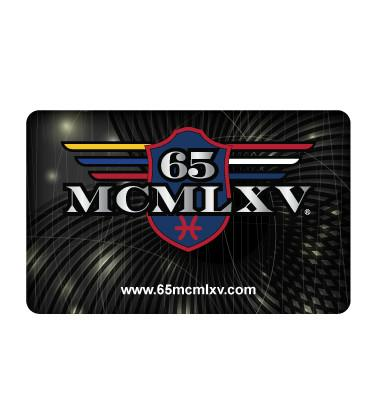 65 MCMLXV Gift Card-Gift Card-65mcmlxv