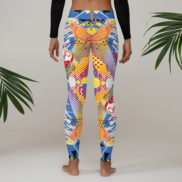 Leggings - 65 MCMLXV Women's Pop Art Print Leggings