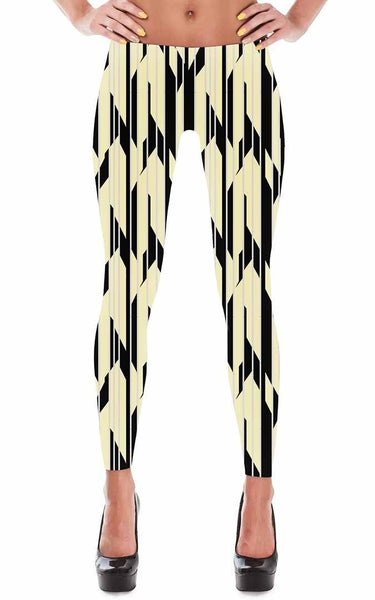 Leggings - Women's Art Deco Leggings