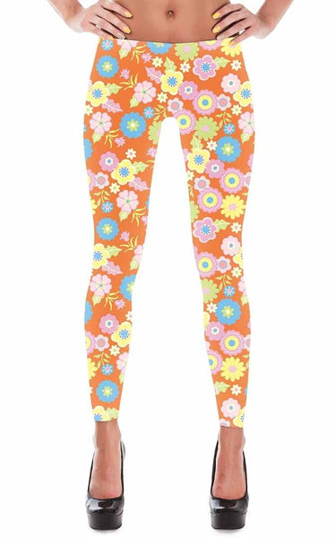 Leggings - Women's Scooby Doo Floral Leggings
