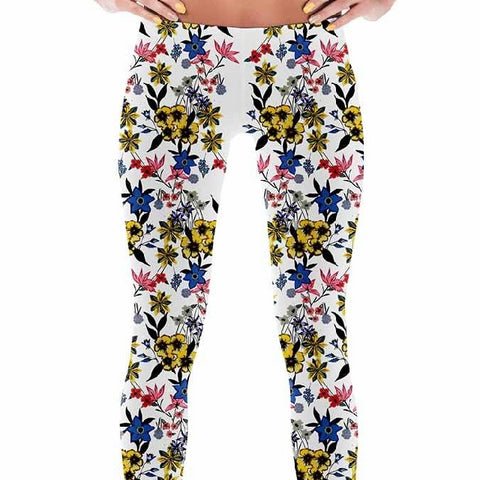 Leggings - Women's Spring Flowers Leggings