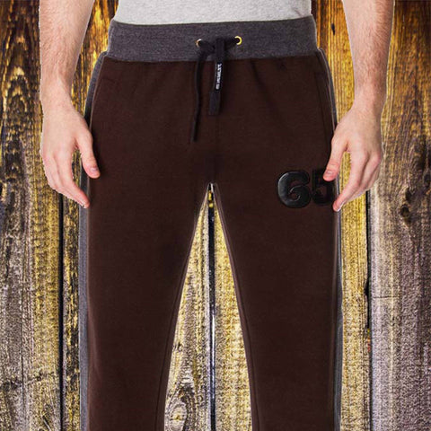 65 MCMLXV Men's Dress Sweat Pant In Coffee-Pant-65mcmlxv