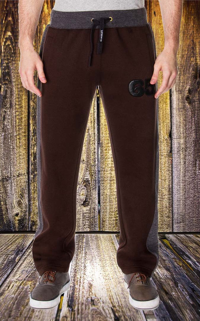 Pant - Men's Dress Sweat Pant In Coffee