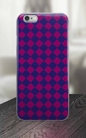 Phone Case - 65 MCMLXV Argyle Print IPhone Case