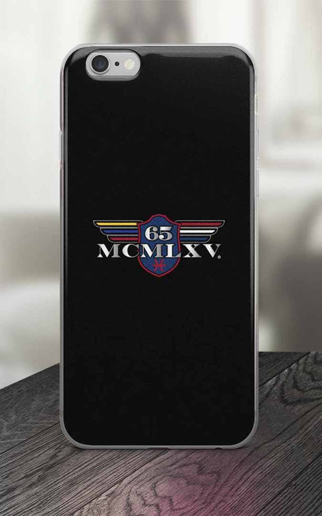 65 MCMLXV Black Logo iPhone Case-Phone Case-65mcmlxv