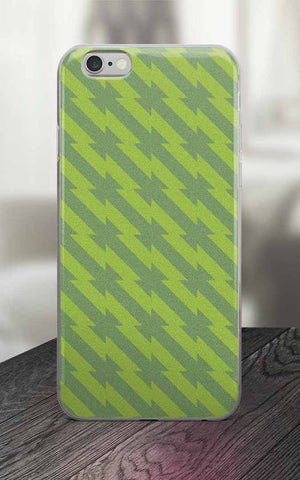 Phone Case - 65 MCMLXV Green Barbed Wire Print IPhone Case
