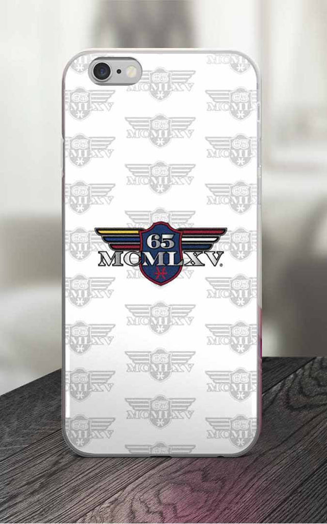 65 MCMLXV White Logo iPhone Case-Phone Case-65mcmlxv