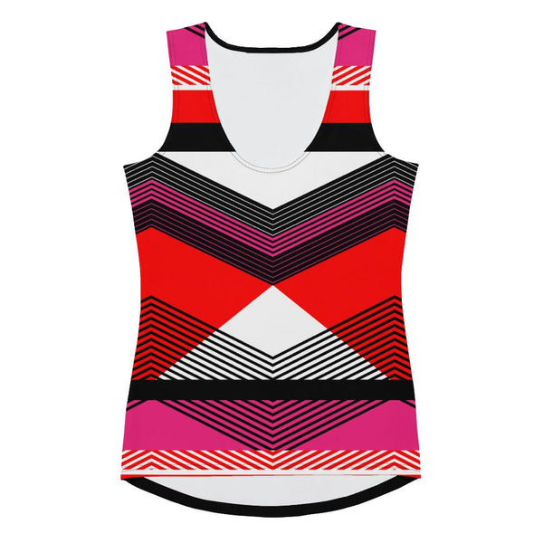 Tank Top - Women's Geometric Art-Deco Tank Top