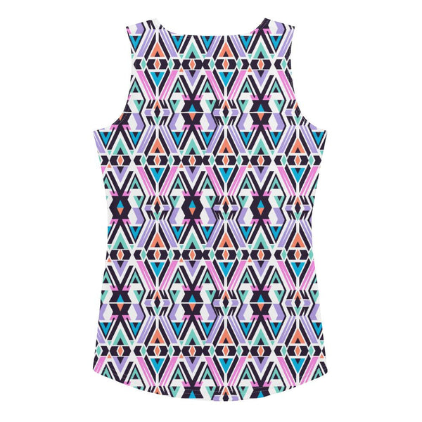 Tank Top - Women's Tribal Geometric Tank Top
