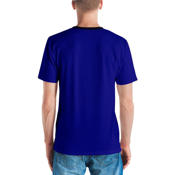 Tee Shirt - Men's Earth, Air & Sea Print T-Shirt