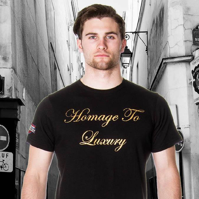 Tee Shirt - Men's Homage To Luxury Graphic T-Shirt