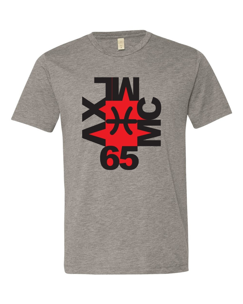 65 MCMLXV Men's Modern Art Graphic Logo T-Shirt-Tee Shirt-65mcmlxv