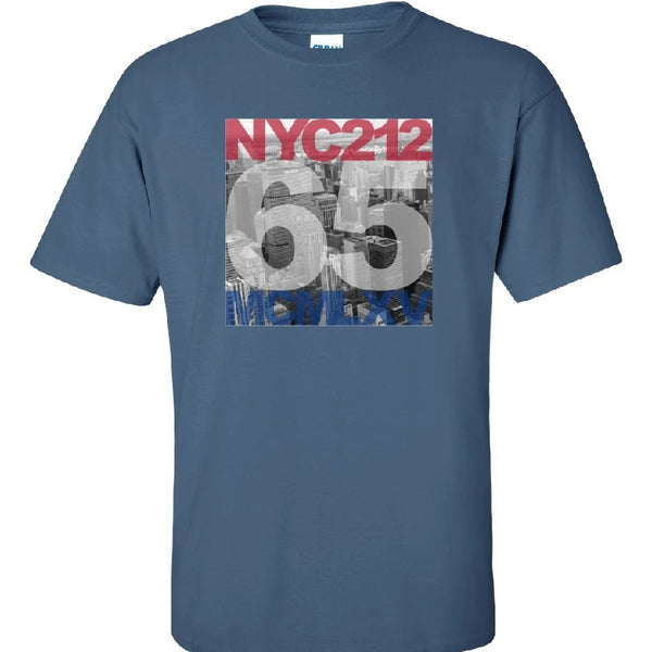 Tee Shirt - Men's NYC 212 Skyline Graphic T-Shirt
