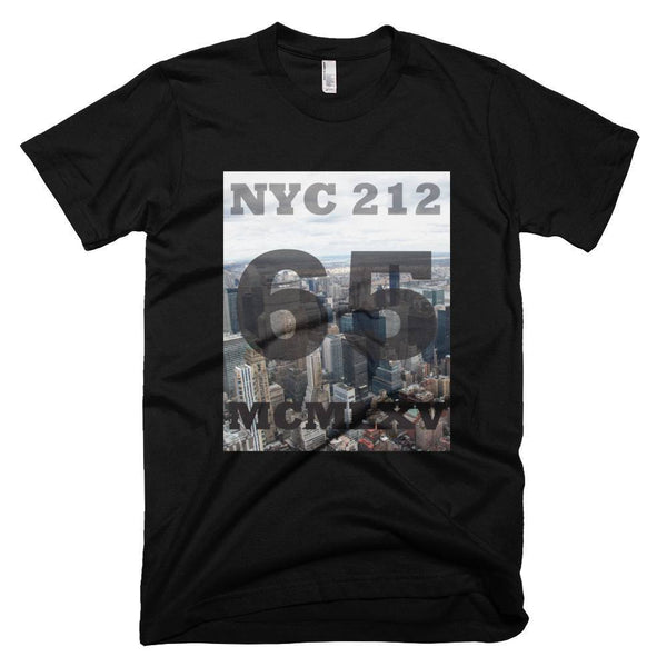 65 MCMLXV Men's NYC Skyline Graphic T-Shirt-Tee Shirt-65mcmlxv