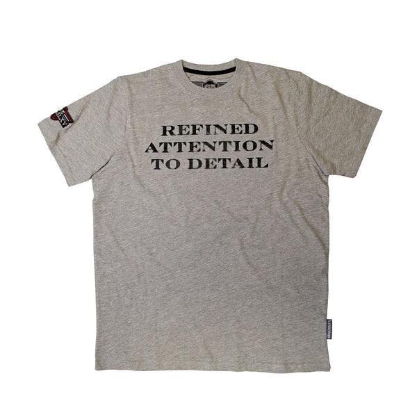 65 MCMLXV Men's Refined Attention To Detail Graphic T-Shirt-Tee Shirt-65mcmlxv