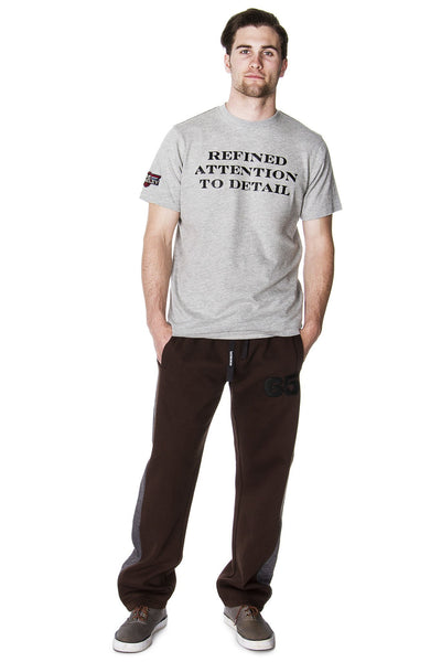 Tee Shirt - Men's Refined Attention To Detail Graphic T-Shirt
