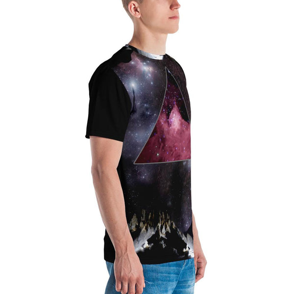 65 MCMLXV Men's The Final Frontier Print T-Shirt-Tee Shirt-65mcmlxv