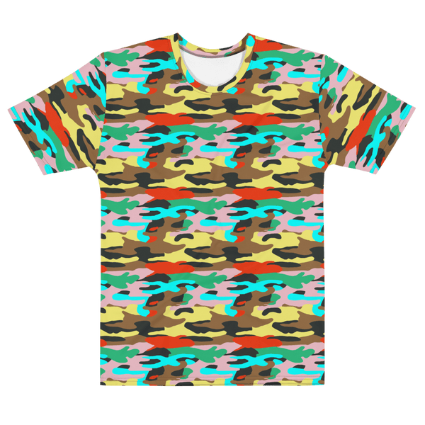 65 MCMLXV Unisex Bright Camouflage Printed T-Shirt-Tee Shirt-65mcmlxv