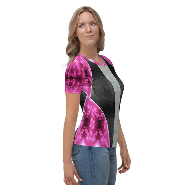 Tee Shirt - Women's Clea Celestial Galaxy T-Shirt