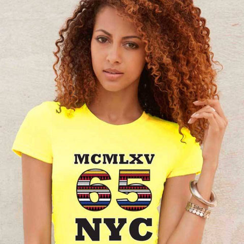 Tee Shirt - Women's NYC Inca Logo Graphic T-Shirt