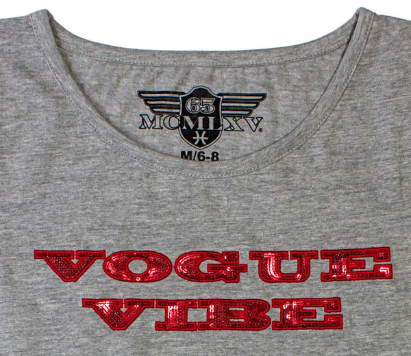 65 MCMLXV Women's Vogue Vibe Graphic T-Shirt-Tee Shirt-65mcmlxv