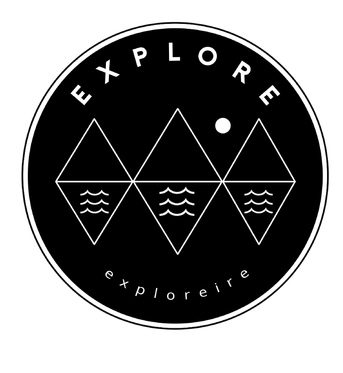 The Explore Hoodie - Unisex Black