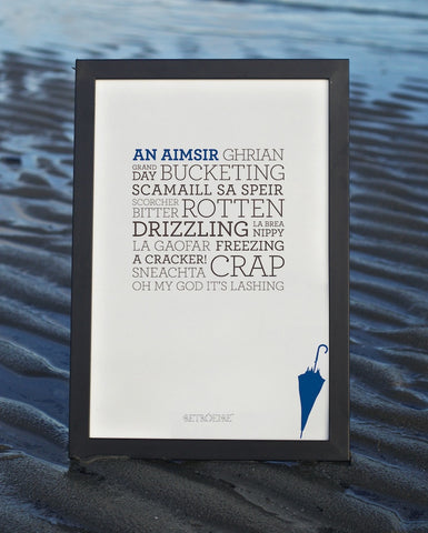 Irish Weather Print