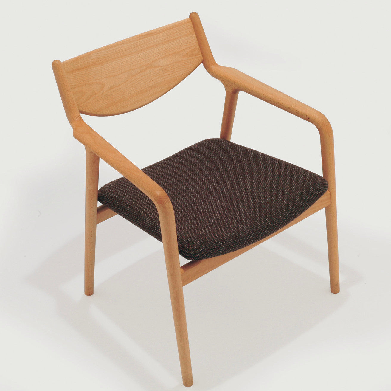 modern wooden chair front view. pepe lounge chair modern wooden front view