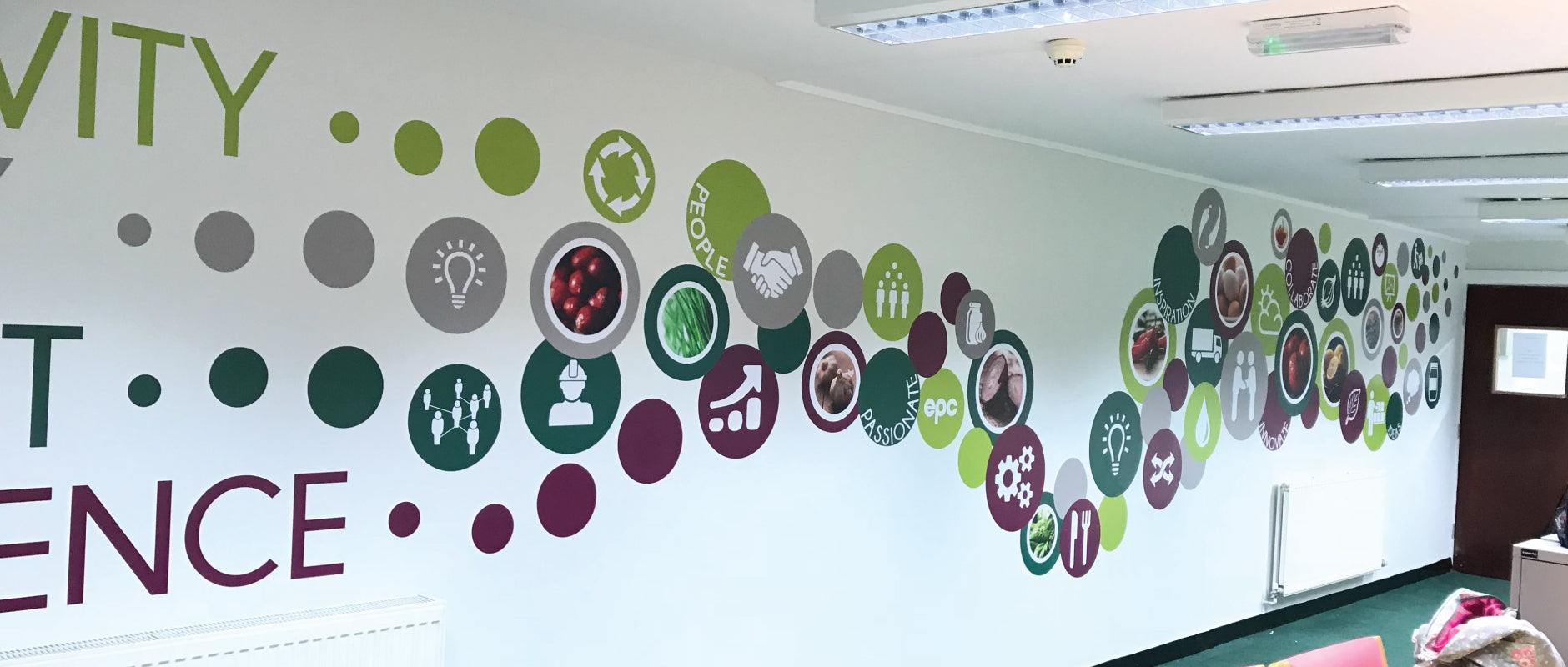 Office Branding Wall Graphics