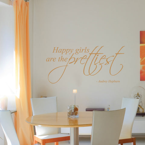 Happy Girls Wall Sticker