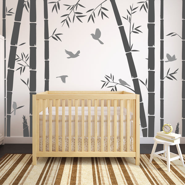 Nursery Tree Bamboo Stickers