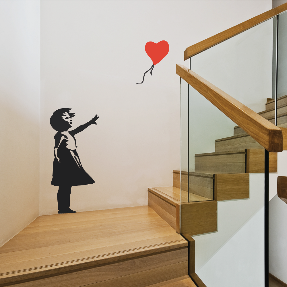 Banksy Wall Sticker