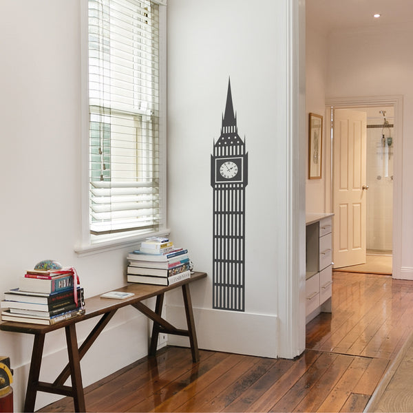 Big Ben Wall Sticker By Wallboss