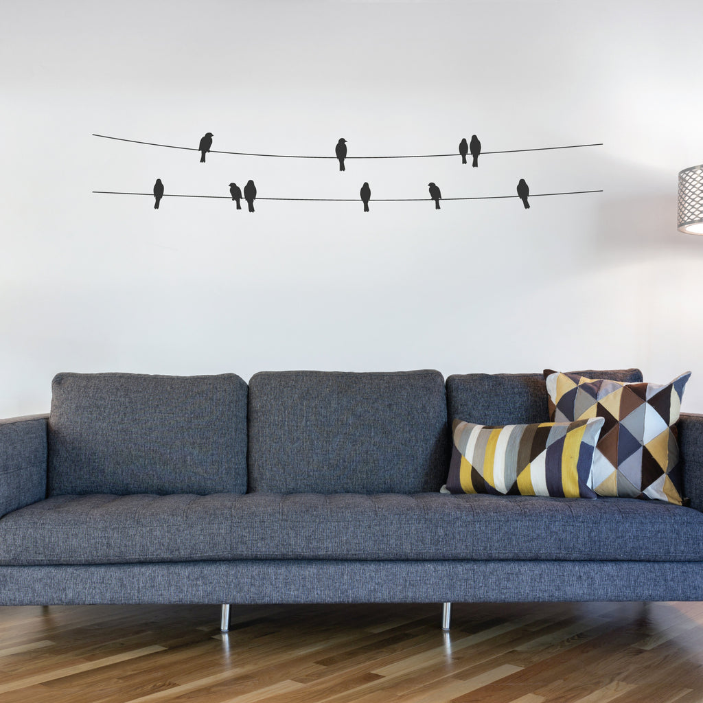 Birds On A Wire Wall Decal Wallboss Wall Stickers Wall Art