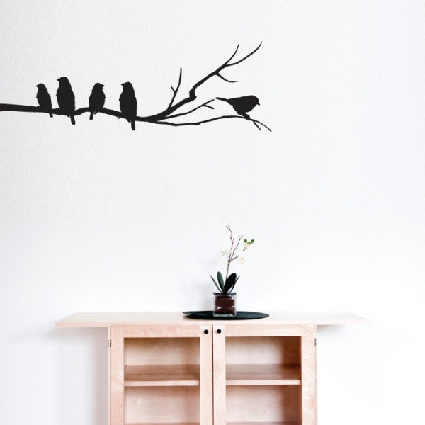 Birds On A Branch Wall Sticker