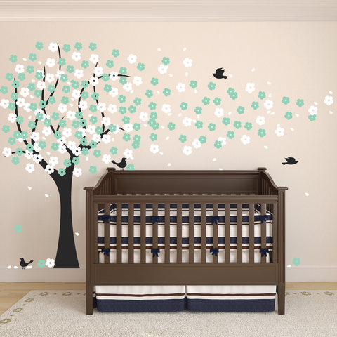 Cherry Blossom Tree Wall Sticker