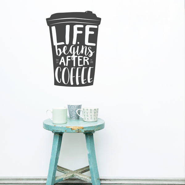 Coffee Wall Sticker Decal