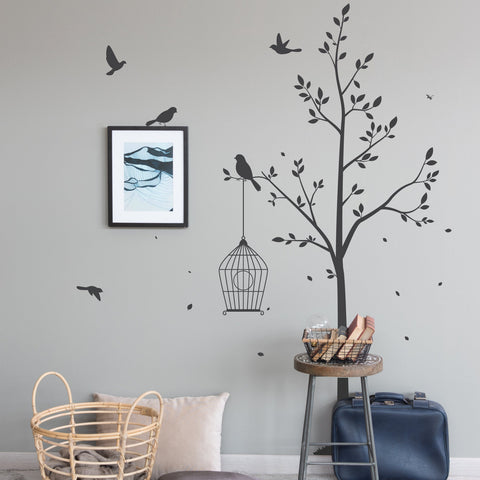 Tree Wall Sticker Beautiful