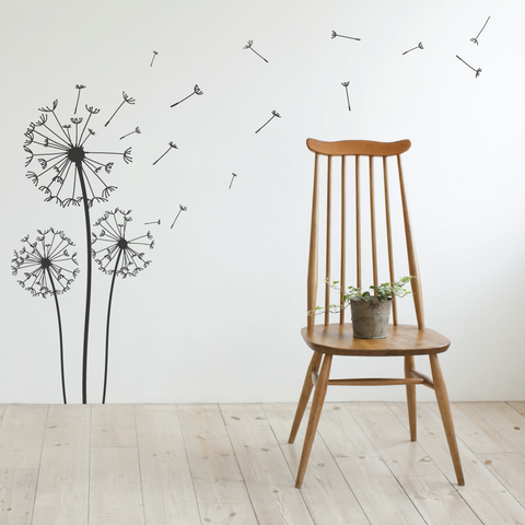 Blowing Dandelion Wall Stickers