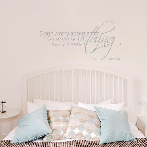 Don't Worry Wall Sticker