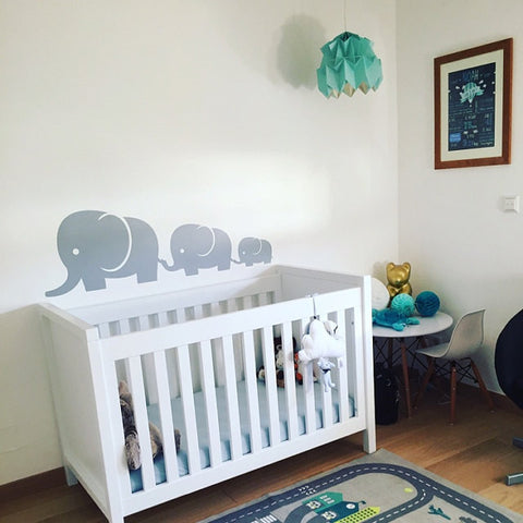 Nursery Elephant Wall Stickers