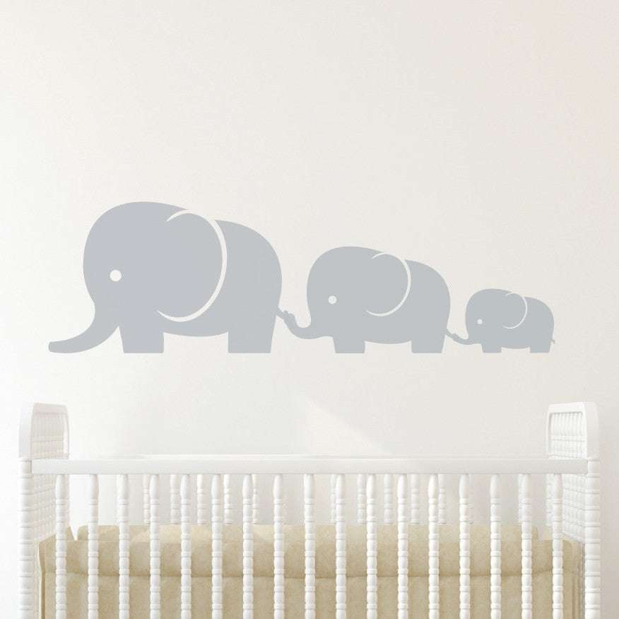 Elephant Family Wall Sticker Wallboss Wall Stickers