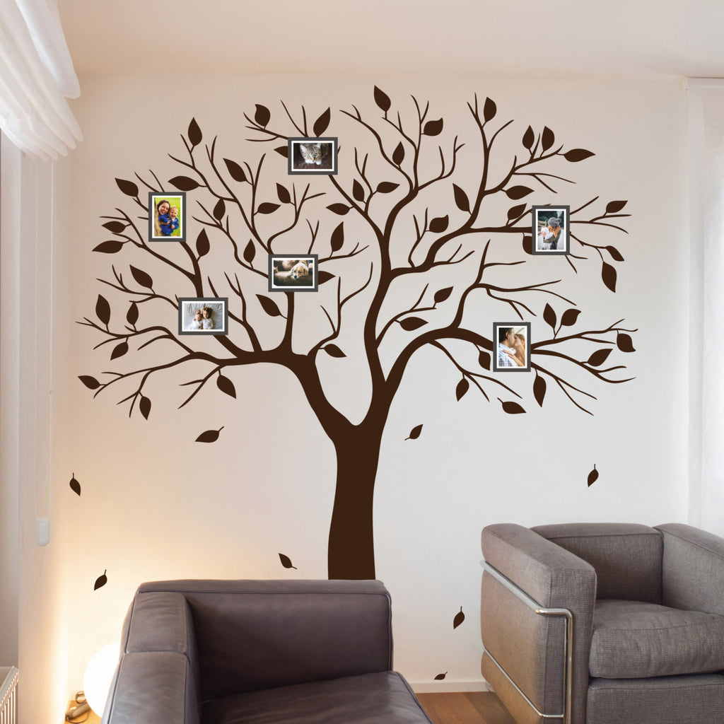 Amazing Photo Family Tree Wall Sticker