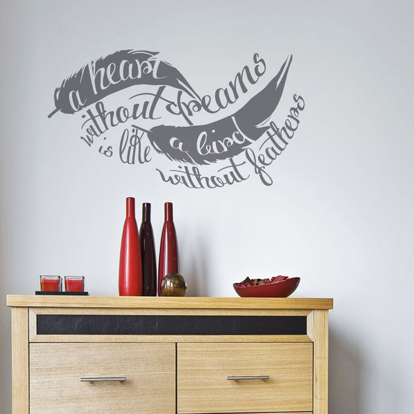 Feather Wall Decal Sticker