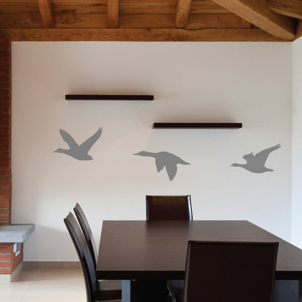 Flying Ducks Wall Decal