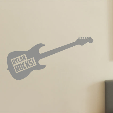 Guitar Wall Sticker