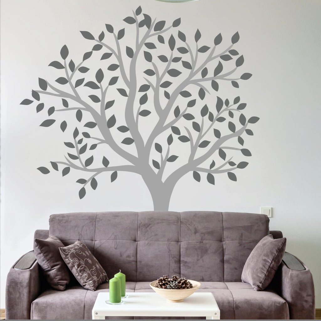 Superb Large Tree Wall Decal Living Room
